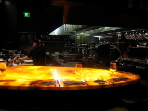 The kitchen bar at Lola