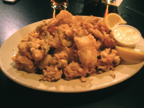 Kuma's is definitely not known for their fried calamari