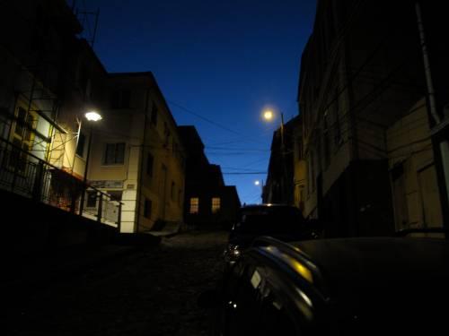 Valparaiso at night