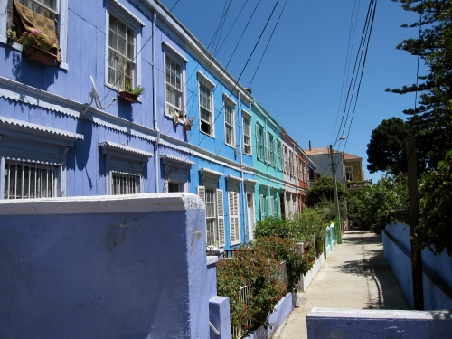 Valparaiso during the day