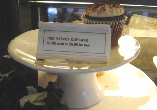 It beckons to me but I have yet to try the red velvet at Starbucks.