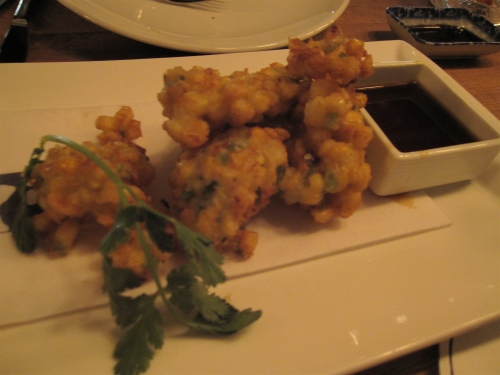 Indo corn fritters