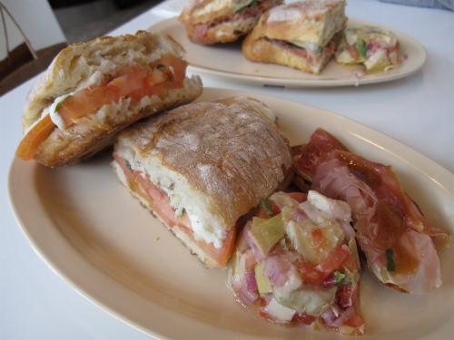 Caprese panini