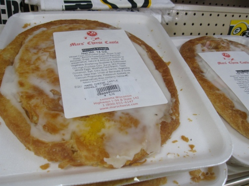 Really, can anyone resist a Wisconsin kringle? I mean...