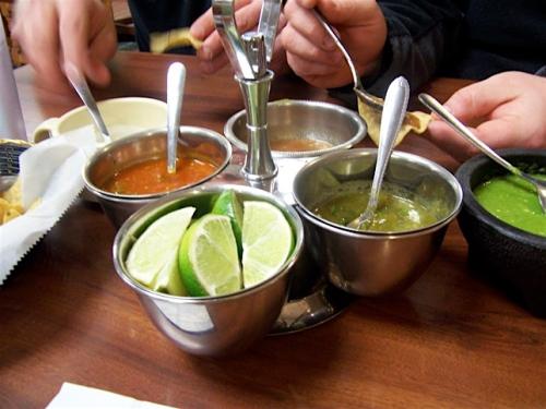 Housemade salsas