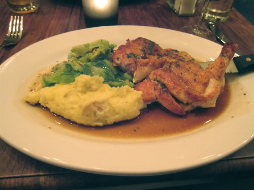 Half-chicken at Branch 27