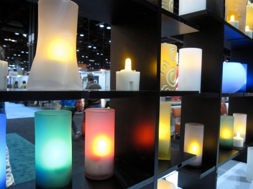 Safe lite rechargeable candles and votives