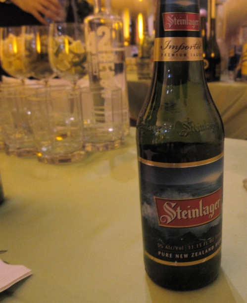 Steinlager, my new favorite beer from New Zealand