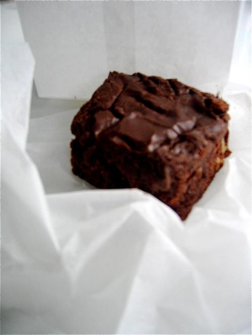 Brett's Kitchen fudge brownie