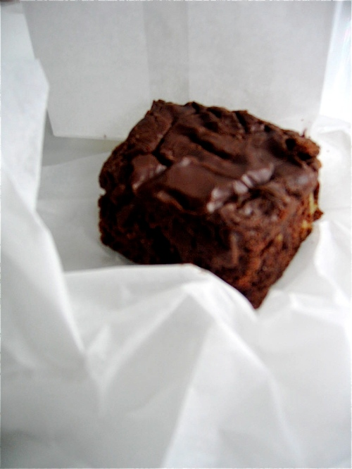 Brett's Kitchen fudge brownie