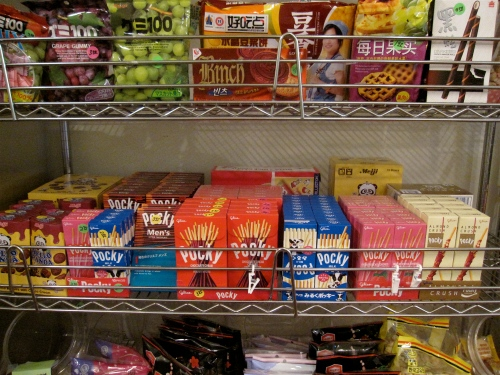 Imported Asian candy including Pocky!