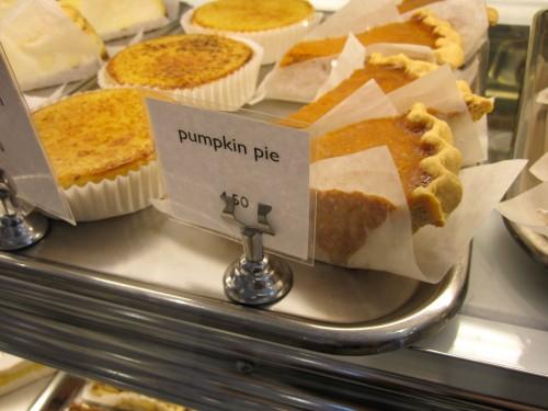 Pumpkin pie..my fave