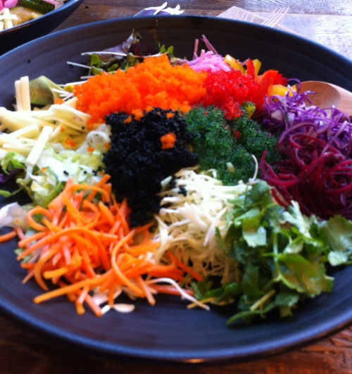 A bevy of color in every bowl